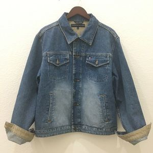 Tommy Hilfiger Button Classic Denim Jean Jacket